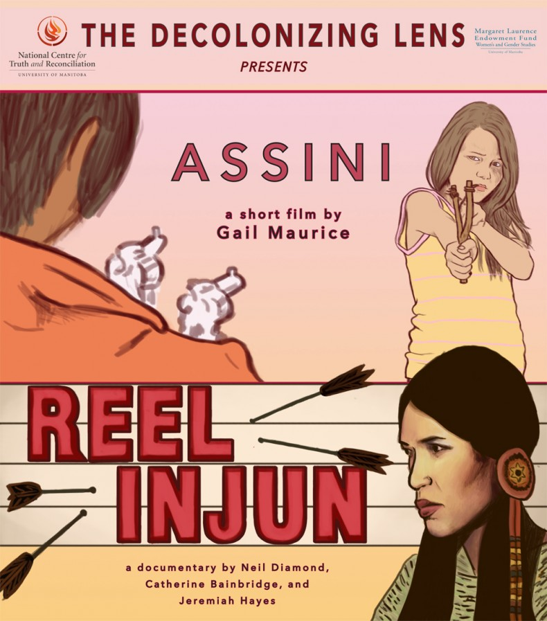ASSINI AND REEL INJUN POSTER