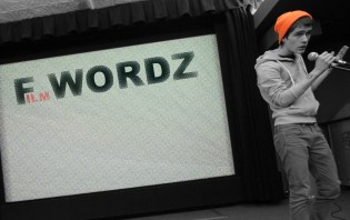 F-Wordz: Collaboration Competition between Poets and Filmmakers