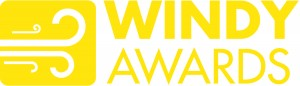 Windy Awards Logo Mustard Large